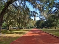 Front walk to the plantation main house and surrounding buildings