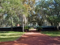 Front walk to the plantation main house and surrounding buildings~