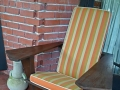 Rear patio chair (lake side)