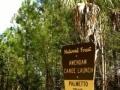 Awendaw Creek Canoe Launch sign