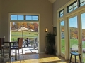 ~looking out towards the deck from the tasting room~