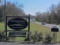 ~Delaplane Cellars sign along Highway 17~