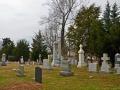Cemetery - looking towards Water Street