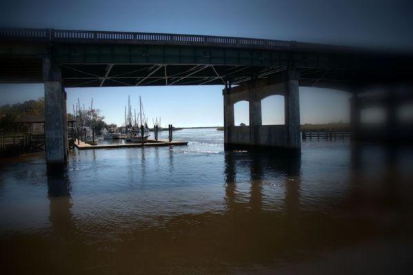 ~Highway 17 bridge over the Darien River (McIntosh County, Georgia)~