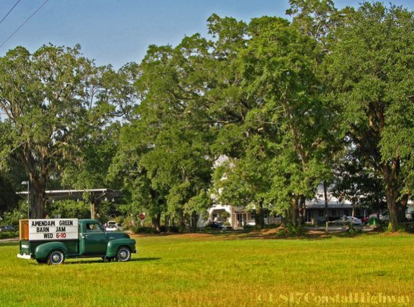 ~Awendaw Green Barn Jam, with the SeeWee Outpost in the background, Awendaw, SC~   ~~~~~