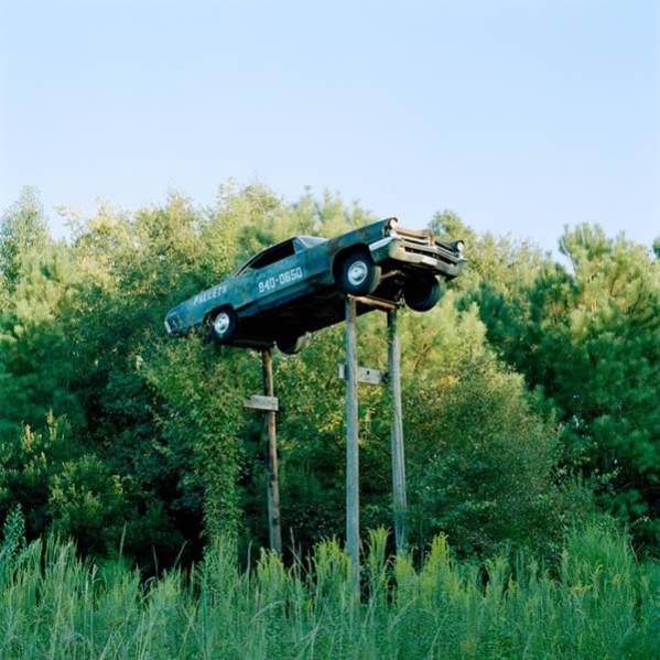 ~Green Car on Stilts, North Carolina~