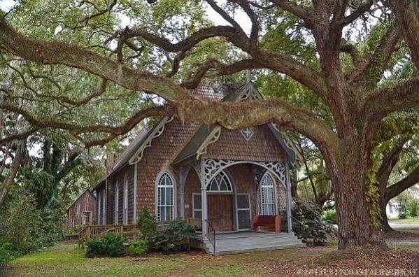 ~St. James Santee Episcopal Chapel of Ease~ 205 Oak Street, McClellanville, SC  29458 ~~~~~