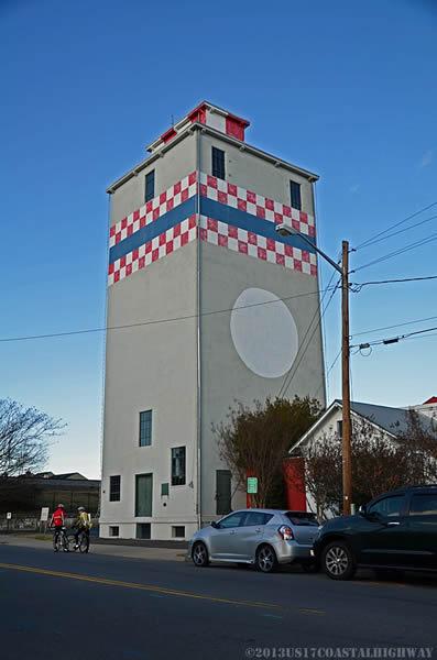 ~The Purina Grain Tower - Charles St/Highway 17-Business (Fredericksburg, Virginia)~